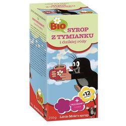 Syrop dla dzieci z tymianku i dzikiej róży BIO 250g