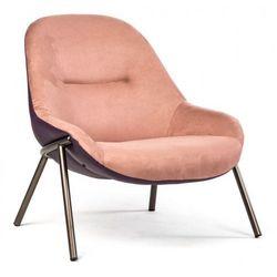 Fotel Viborg różowy