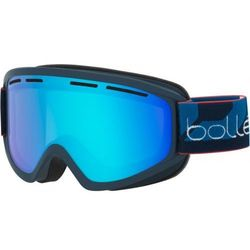 Gogle Bolle Schuss Mate Navy/Light Vermillon Blue Kat. S1