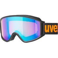 Okularki pływackie, UVEX g.gl 3000 CV Gogle, black mat/Colorvision blue energy 2019 Gogle narciarskie