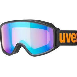 UVEX g.gl 3000 CV Gogle, black mat/Colorvision blue energy 2019 Gogle narciarskie