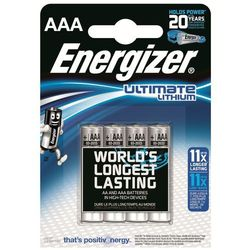 4 x bateria foto litowa Energizer L92 Ultimate Lithium R03 AAA