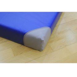 Materac gimnastyczny INTERPLASTIC Antypoślizgowy z narożnikami niebieski