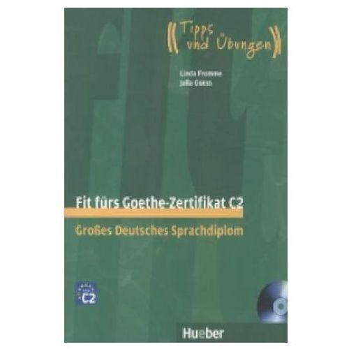Książki do nauki języka, Fit Furs Goethe-Zertifikat C2 z płytą CD (opr. miękka)