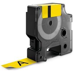 Dymo taśma do drukarek etykiet, S0773850, czarny druk/żółty podkład, 3.5m, 24mm