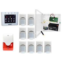 Alarm do szkoły OptimaGSM-PS + 8xBosch+ TPR-2W-O + Sygnalizator