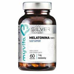 MyVita Silver, Melatonina Forte Sleep Support, 60kaps