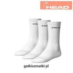 Skarpety HEAD Crew Frotte białe
