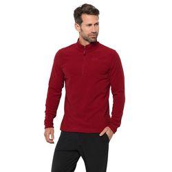 Męska bluza polarowa ARCO MEN dark lacquer red stripes - XXXL