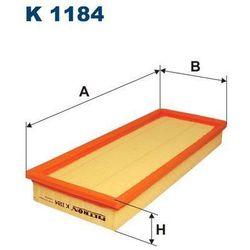 Filtr, wentylacja przestrzeni pasażerskiej FILTRON K1184