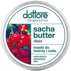 dottore SACHA BUTTER RIBES Masło do twarzy i ciała - intensywnie odbudowujące