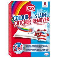 Wybielacze i odplamiacze, K2R 5szt Colour Catcher + Stain Remover Saszetki