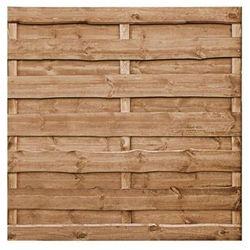 Płot szczelny 180x180 cm drewniany olcha NEVADA WERTH-HOLZ