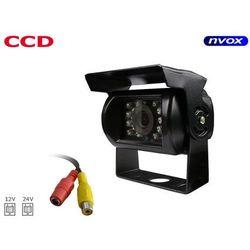 Samochodowa kamera cofania CCD SHARP w metalowej obudowie 12V 24V