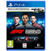 Gry PS4, F1 2018 (PS4)