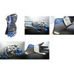 Rękawice motocyklowe BUSE Racing niebieskie