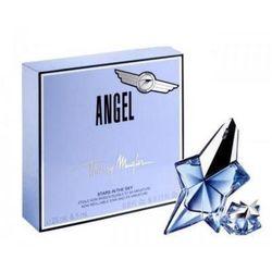 Thierry Mugler Angel, Zestaw podarunkowy, woda perfumowana 25ml + woda perfumowana 5ml (wielokrotnego napełniania)