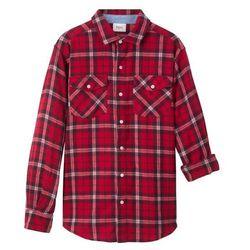 Koszula twillowa w kratę Regular Fit bonprix czerwono-niebieski w kratę