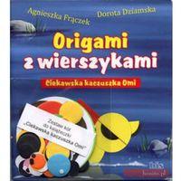 Książki dla dzieci, Ciekawska kaczuszka Omi + zestaw papieru (opr. miękka)