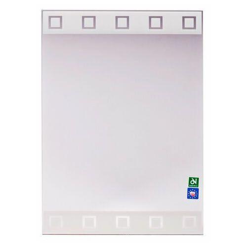 Lustra łazienkowe, Lustro łazienkowe bez oświetlenia S N6BI 50 x 35 cm DUBIEL VITRUM