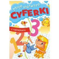 Książki dla dzieci, Moje pierwsze cyferki (opr. broszurowa)