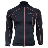 Odzież fitness, Bluza damska z membraną wiatroszczelną LS11050 Brubeck (Kolor: Czarny, Rozmiar: L)