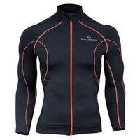 Odzież fitness, Bluza damska z membraną wiatroszczelną LS11050 Brubeck (Kolor: Czarny, Rozmiar: XL)