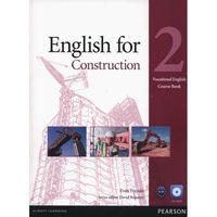 Książki do nauki języka, English For Construction 2 Vocational English. Książka Ucznia Plus CD-ROM (opr. broszurowa)