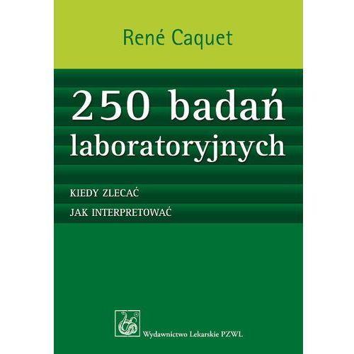 Książki medyczne, 250 badań laboratoryjnych (opr. miękka)