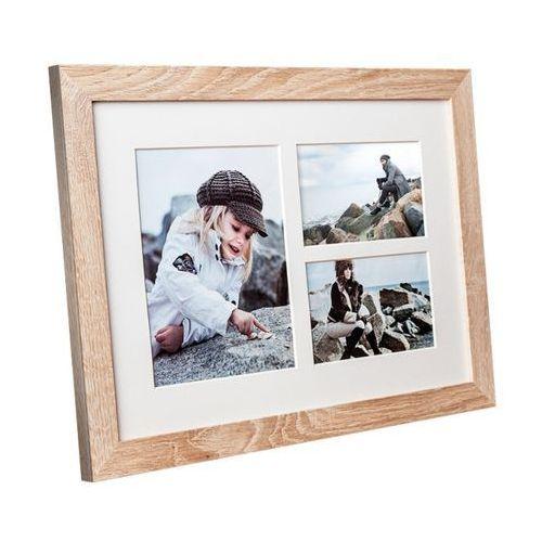 Ramki na zdjęcia, Ramka na zdjęcia Narvik 28 x 39 cm sonoma jasna