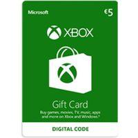 Klucze i karty przedpłacone, Xbox Live €5 Prepaid Card