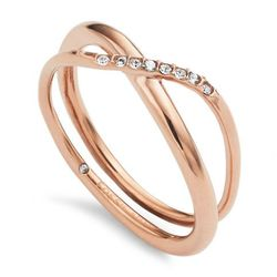 Biżuteria Fossil - Pierścionek JF02255791503 160 Rozmiar 10 - SALE -30%