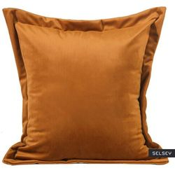 SELSEY Poszewka na poduszkę Lesedi 45x45 cm welwetowa