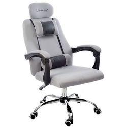 Fotel biurowy GIOSEDIO szary, model GPX011