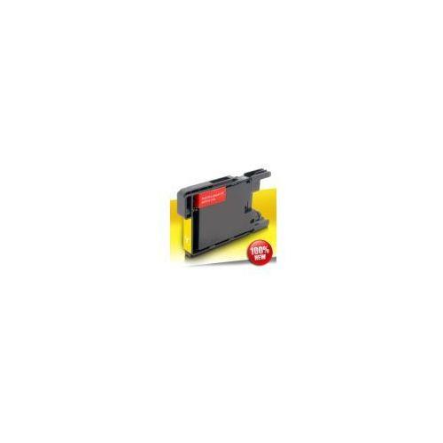 Tusze do drukarek, Tusz Brother 1240/1280 LC Yellow 18ml (LC1240/1280Y)