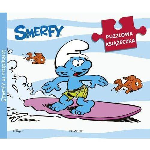 Książki dla dzieci, Smerfy w tropikach (opr. kartonowa)