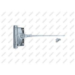 Pružinový samozatvárač dverí Zn, H150mm, L300mm