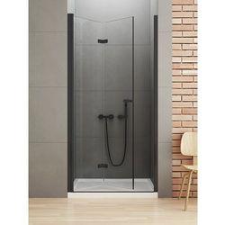 Drzwi prysznicowe 90 cm D-0223A New Soleo Black New Trendy