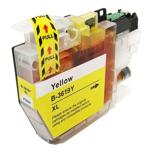 Tusze do drukarek, zastępczy atrament Brother [LC-3619XL Y] yellow