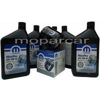 Filtry oleju, Filtr oraz olej MOPAR 10W30 Jeep Cherokee 1991-2001