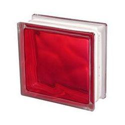 Pustak szklany Seves 1908 WRO czerwony