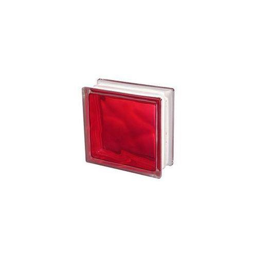 Cegły i pustaki, Pustak szklany Seves 1908 WRO czerwony