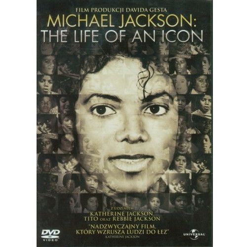 Filmy dokumentalne, Michael Jackson. The Life as an Icon (DVD) - David Gest