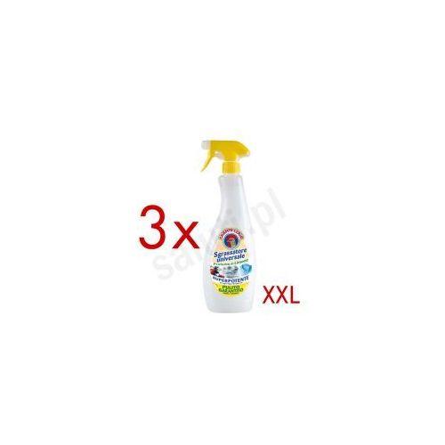 Rozcieńczalniki i rozpuszczalniki, Chante Clair Sgrassatore Universale Cytryna - włoski odtłuszczacz (3 x 850 ml)