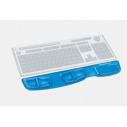 Podkładka przed klawiaturę FELLOWES Health-V Crystal niebieska