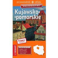 Mapy i atlasy turystyczne, Polska niezwykła Kujawsko-pomorskie Przewodnik + atlas -. (opr. broszurowa)