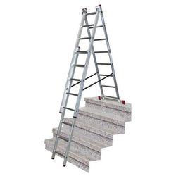 Drabina wielofunkcyjna Krause Corda 3 x 8 z funkcją schody