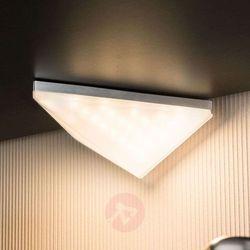 Lampa meblowa Paulmann Kite 93584, LED wbudowany na stałe x 2;6.2 W, 230 V, IP44, (DxSxW) 13.8 x 14.9 x 5.7 cm, aluminiowy (szczotkowany)