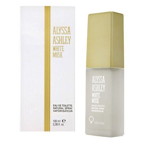 Wody toaletowe damskie, Alyssa Ashley Białe piżmo Alyssa Ashley Białe piżmo Eau de Toilette Spray 100.0 ml