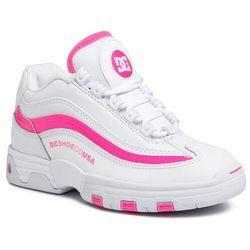 Sneakersy DC - Legacy Lite ADJS100129 White/Hot Pink (WHK)